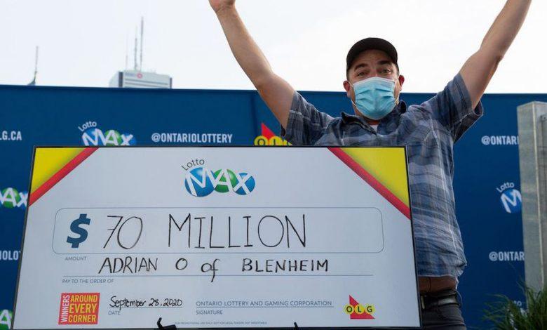 صورة عاد Lotto Max Jackpot إلى 70 مليون دولار وهو أعلى رقم يمكن الحصول عليه على الإطلاق